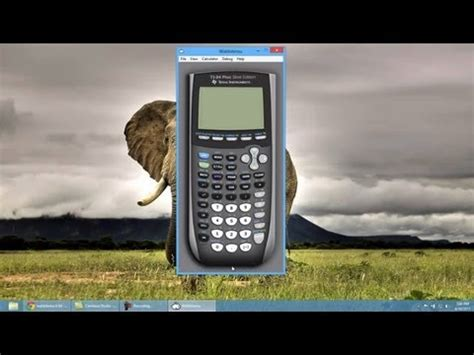how to download the ti 84 calculator on your computer