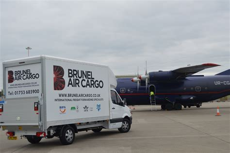 ads advance a o g successfully handled by brunel air cargo
