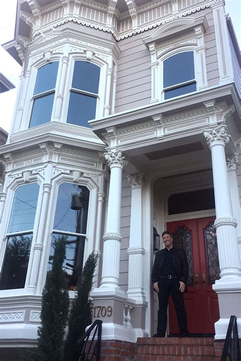 where is the full house house in san francisco full house creator purchases original tanner house in