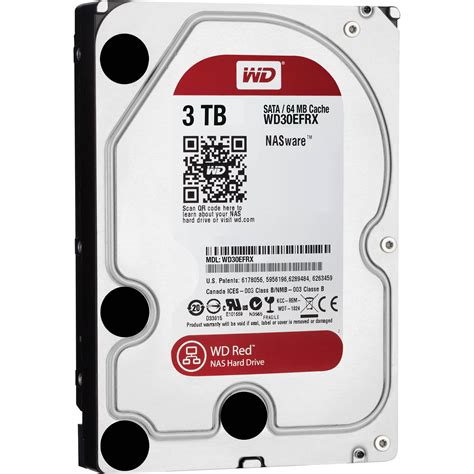 Harddisk Wdc 3tb For Nas wd 3tb wd sata 3 5 quot nas oem drive wd30efrx b h