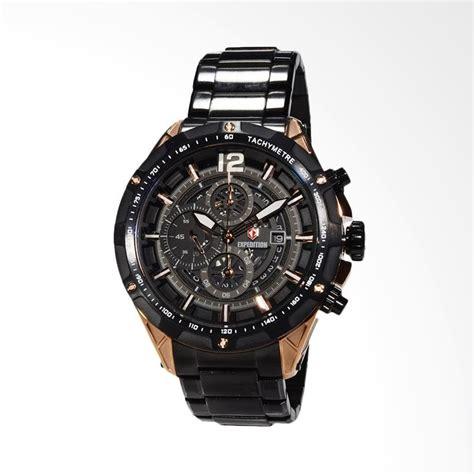 Harga Jam Tangan Hitam jual expedition jam tangan pria hitam 6721mcbbrba