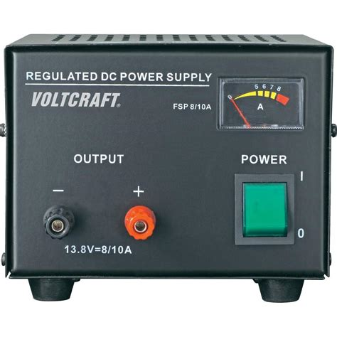 bench power supply uk bench psu fixed voltage voltcraft fsp 1138 13 8 vdc 8 a