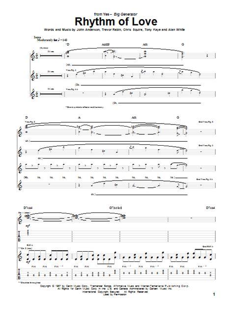 swing to the rhythm of love chords rhythm of love sheet music direct