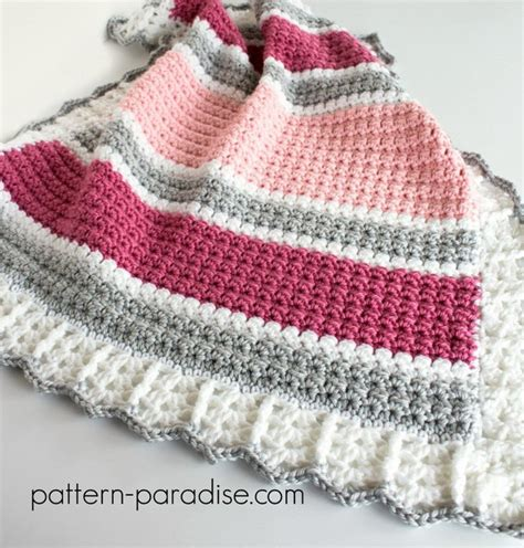Crochet Baby Blanket Patterns For Beginners by 45 And Easy Crochet Blanket Patterns For Beginners