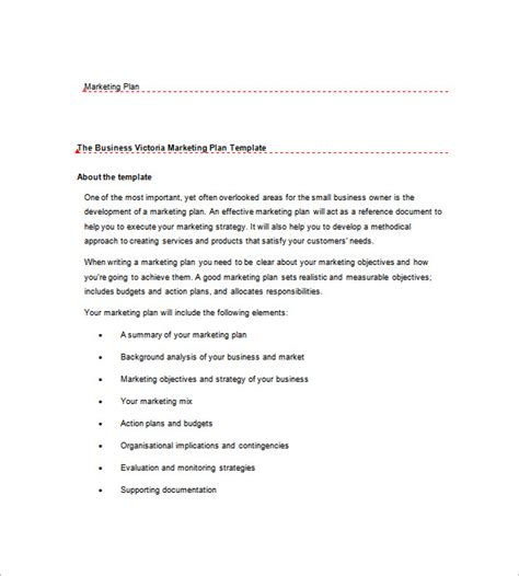 business gov au business plan template business gov marketing business plan template 9 free word excel