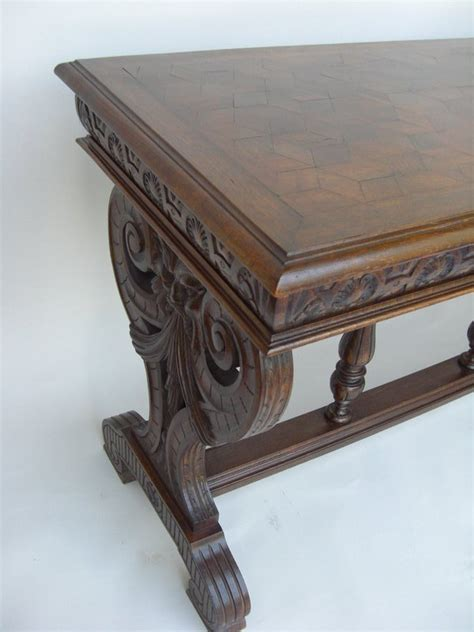 Antique Sofa Tumbling Block Design Sofa Table For Sale Antique Sofa Table For Sale