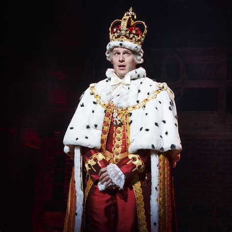 actor king george the crown jonathan groff of hamilton off script how the king