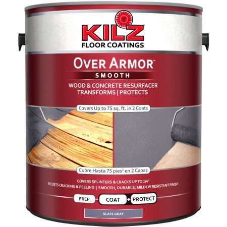 kilz  armor woodconcrete coating  gallon walmartcom