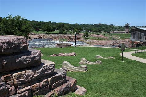 sioux falls garden center falls park city of sioux falls