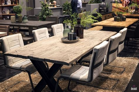 Modern Rustic Dining Room Table A Upgrade 25 Wooden Tables To Brighten Your Dining Space Decor Advisor