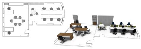 office furniture layout office layout design space planning radius office