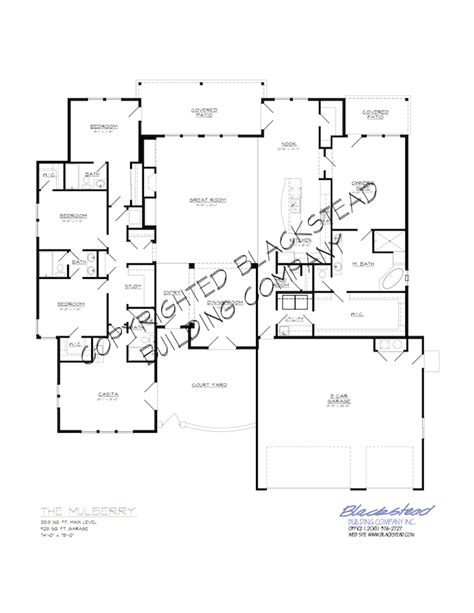 Mulberry Floor Plan by Mulberry Floor Plan Blackstead Building Co