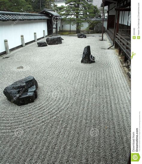 Kyoto Rock Garden Rock Garden In Kyoto Japan Stock Photo Image 2024482