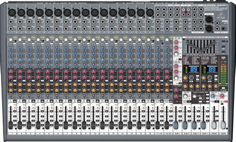 Mixer Eurodesk behringer eurodesk sx2442fx image 306306 audiofanzine