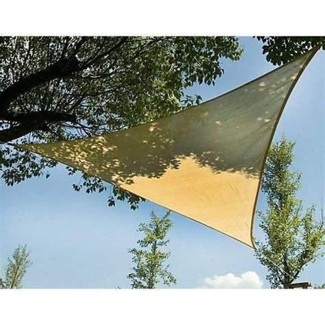 vele da giardino prezzi vele ombreggianti triangolari da giardino in poliestere beige