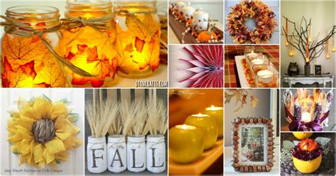 fall decorating projects 60 fabulous fall diy projects to decorate and beautify