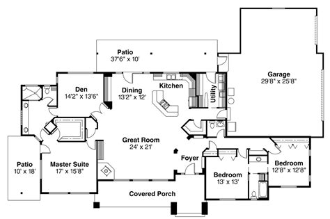 belvedere floor plan contemporary house plans belvedere 30 280 associated