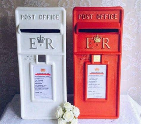 Wedding Post Box To Buy royal mail wedding post box sign only box not included
