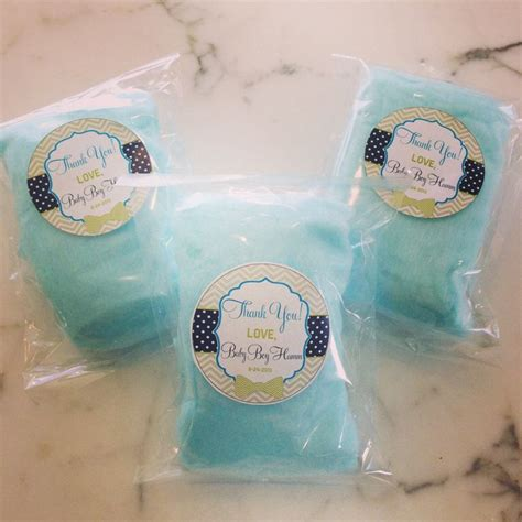 Cotton Baby Shower Favors by Blue Cotton Baby Shower Gift Cotton