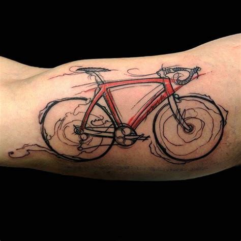 bike chain tattoo 17 best images about cycling tattoos on dna