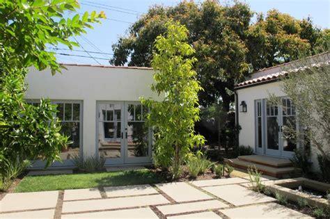 Spanish Courtyard Designs by Spanish Courtyard Mediterranean Exterior Los Angeles