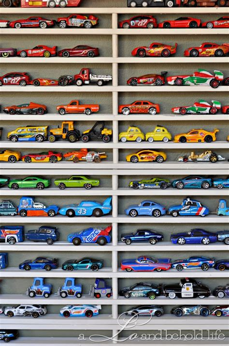 diy matchbox car garage updated a lo and behold