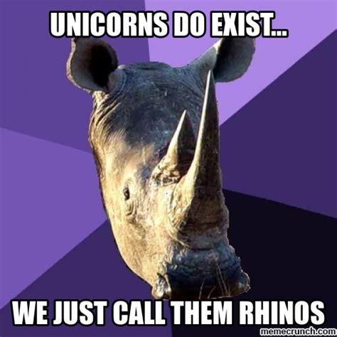 Unicorn Memes - unicorn rhino