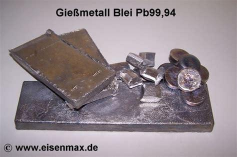 Blei Preis Pro Kilo by Bleibarren Gie 223 Metall 5 Kg St 252 Cke Im Shop Eisenmax G 252 Nstig