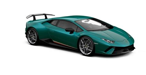 What Colors Do Lamborghinis Come In The Lambo Huracan Performante Comes In All Sorts Of