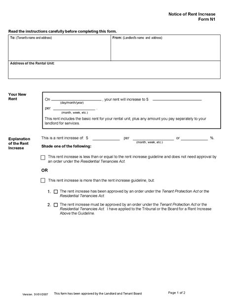rent increase form england section 13 notice grl landlord