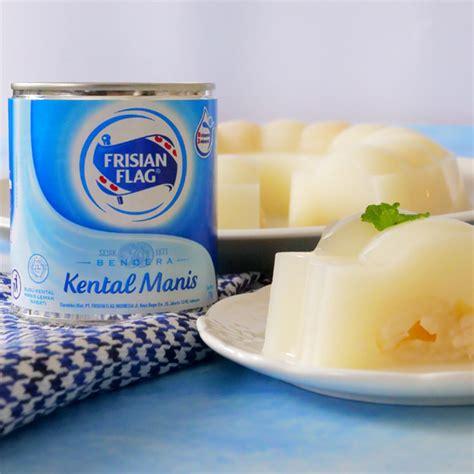 resep puding susu leci frisian flag indonesia