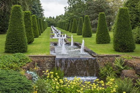 michael heseltines thenford garden arboretum  spring
