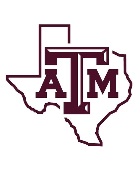 Texas A M Auto Decals by Texas A M Aggies State Of Texas 6 Quot Maroon Decal