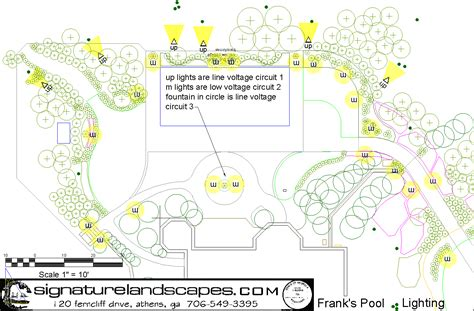 Landscape Lighting Plans 1000 Images About Landscape Design References On