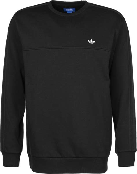 Sweater Black Addidas Basic adidas classic trefoil raglan sweater black