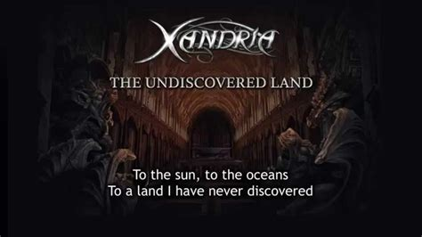 lyrics xandria xandria the undiscovered land with lyrics