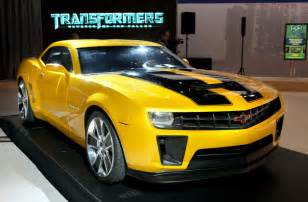 Bumblebee Chevrolet Compare Car Design 2010 Camaro Transformers Bumblebee