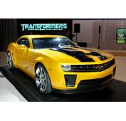 Compare Car Design 2010 Camaro Transformers Bumblebee