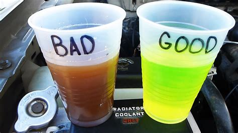 what color is coolant how to check and test your coolant antifreeze