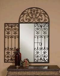 wrought iron bathroom mirrors 16 best wrought iron mirrors images on wrought