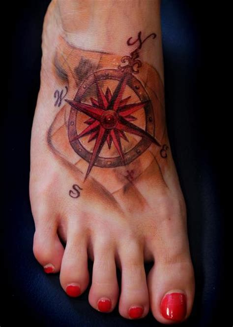 steve phipps tattoos nautical compass rose