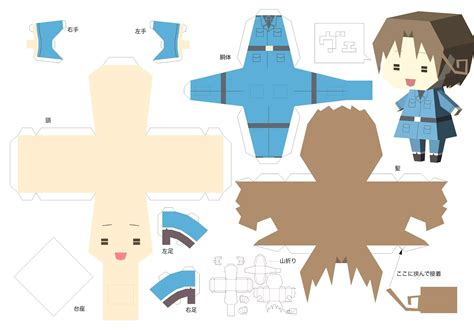 Hetalia Papercrafts - paper italy crafts