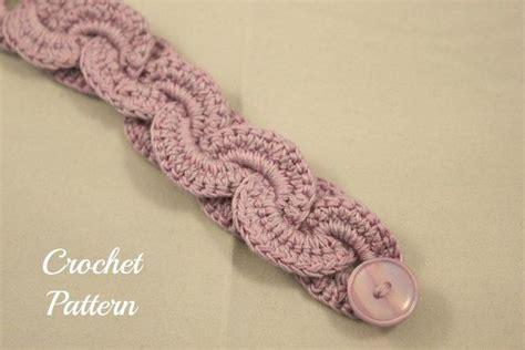 crochet bracelet with pattern crochet bangle bracelet pattern ideas 8 trendyoutlook