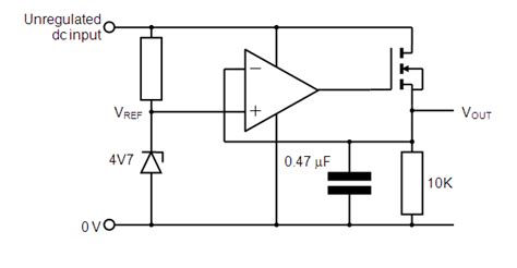 power mosfet diode based limiter for high frequency ultrasound systems op does this voltage regulator use quot on quot or is it a voltage follower