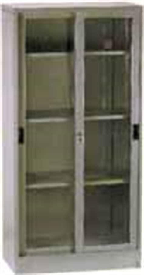 Lemari Kaca Elite lemari arsip pintu geser kaca lemari arsip pintu