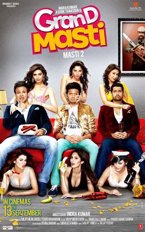 film full movie india bollywood movie grand masti 2013 poster