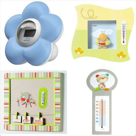 thermometre chambre bebe