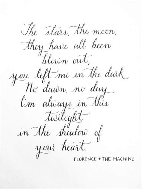 Wedding Song Because by Florence The Machine Lyrics To Cosmic Beautiful
