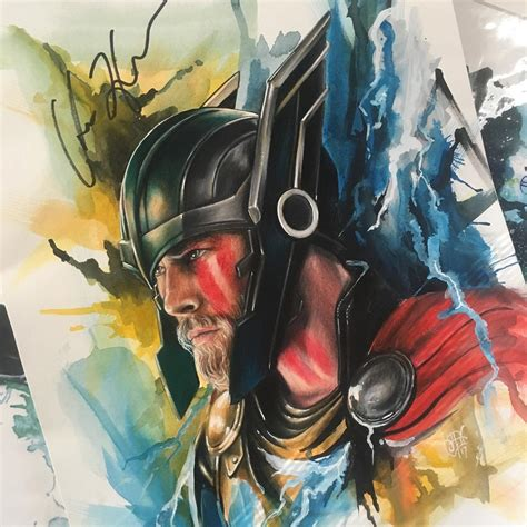 thor painting by sam ding