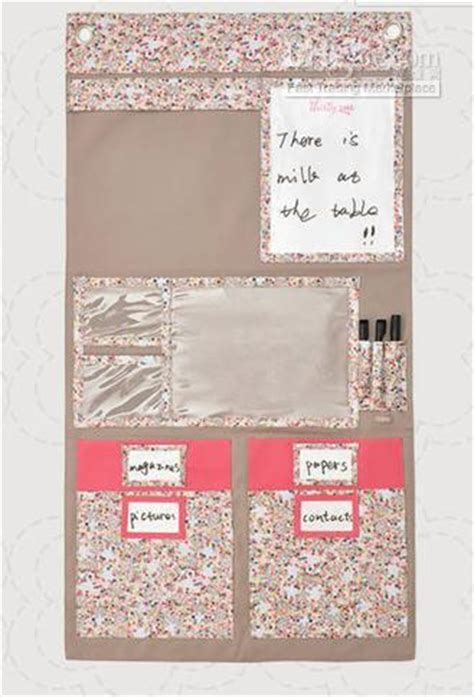 hb916 tt thirty one hang up home organizer wall in flowers